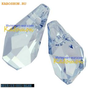 Swarovski Polygon Drop 13 мм Crystal Blue Shade