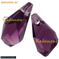 Swarovski Polygon Drop 13 мм Amethyst