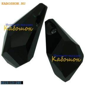 Swarovski Polygon Drop 13 мм Jet