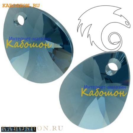 Подвеска-кристалл Swarovski (Сваровски) Xilion Mini Pear Pendant 10 мм Denim Blue