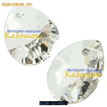 Swarovski Xilion Mini Pear Pendant 10 мм Crystal