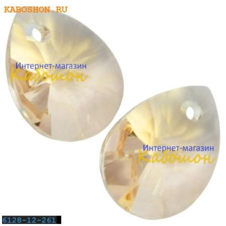Подвеска-кристалл Swarovski (Сваровски) Xilion Mini Pear Pendant 10 мм Lt.Silk
