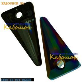 Swarovski Spike pendant 18 мм Crystal Rainbow Dark