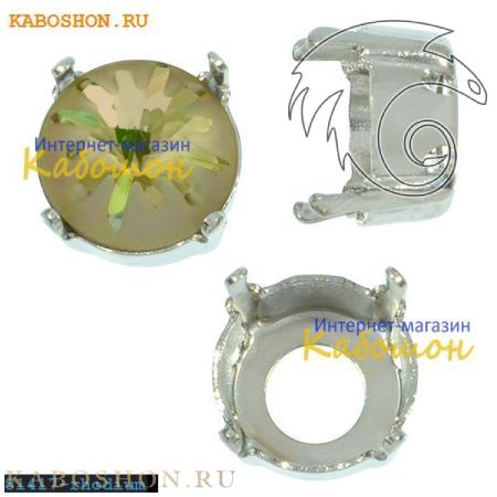 Оправа для Swarovski 1695 Sea Urchin round stone 10 мм родий 1695-10-S-81417-rhodium