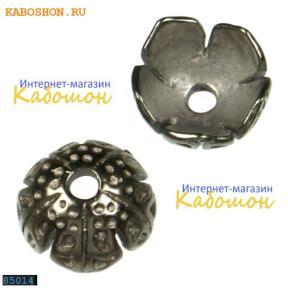 Колпачок 9 мм черный никель