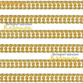 Цепочка 5х4 мм золото (10 см)