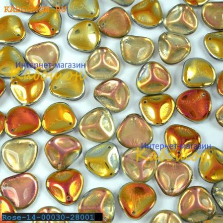 Rose Petal 14х13 мм Crystal Marea (10 шт)
