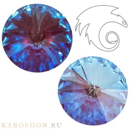 Кристалл Swarovski Rivoli (Риволи сваровски) 12 мм Crystal Burgundy DeLite