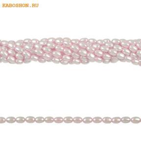 Жемчуг Swarovski рис 4 мм Crystal Rosaline