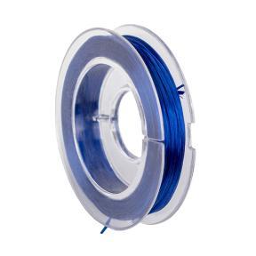 Нить эластичная (спандекс) 0.6 мм индиго