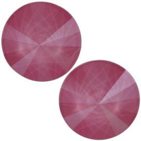 Swarovski Rivoli 12 мм Crystal Peony Pink