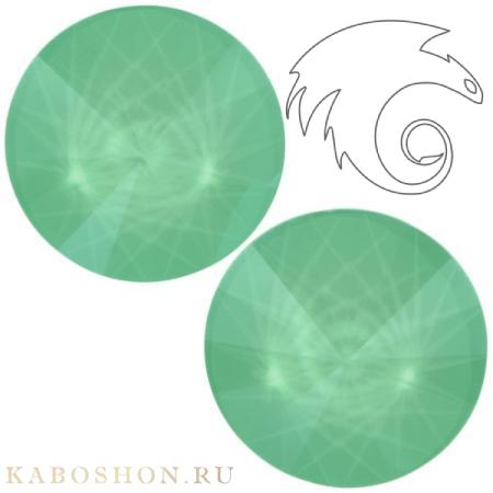 Кристалл Swarovski Rivoli (Риволи сваровски) 12 мм Crystal Mint Green
