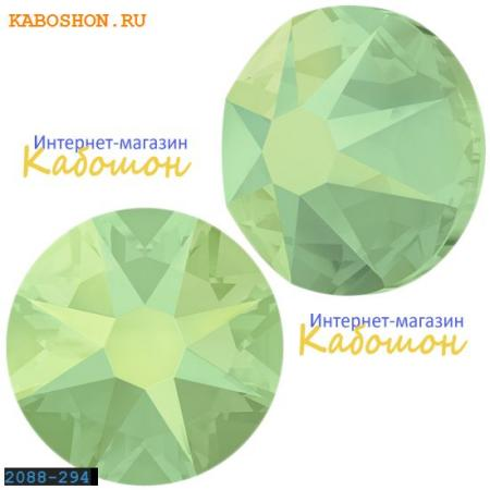 Кристалл Swarovski (Сваровски) Xirius Rose (no HF) ss 30 Chrysolite Opal