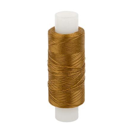 Нитки лавсановые 33Л золотисто-коричневый