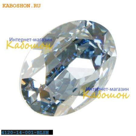Swarovski Oval Fancy stone 14x10 мм Crystal Blue Shade