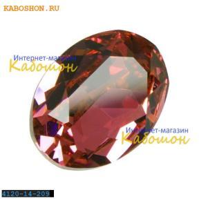 Swarovski Oval Fancy stone 14x10 мм Rose