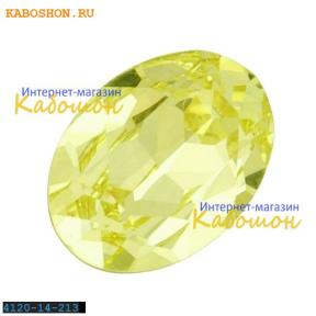 Swarovski Oval Fancy stone 14x10 мм Jonquil