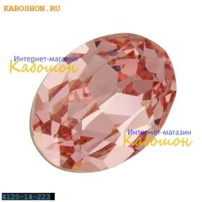 Swarovski Oval Fancy stone 14x10 мм Lt.Rose
