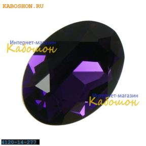 Swarovski Oval Fancy stone 14x10 мм Purple Velvet