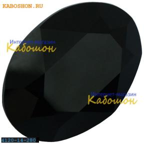 Swarovski Oval Fancy stone 14x10 мм Jet