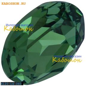Swarovski Oval Fancy stone 14х10 мм Erinite