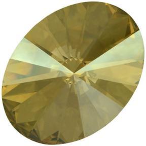 Swarovski Oval Rivoli 18х13,5 мм Crystal Golden Shadow