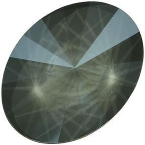 Swarovski Oval Rivoli 18х13,5 мм Crystal Dark Grey