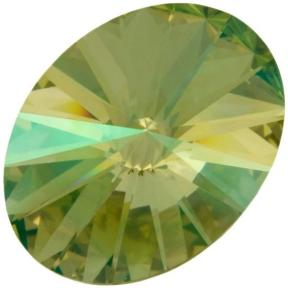 Swarovski Oval Rivoli 18х13,5 мм Crystal Luminous Green