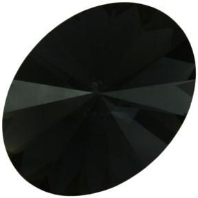 Swarovski Oval Rivoli 18х13,5 мм Graphite