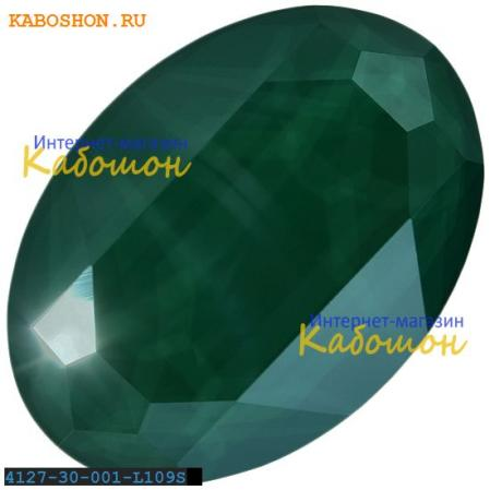 Swarovski Oval Fancy stone 30х22 мм Crystal Royal Green