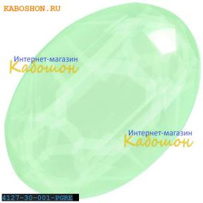 Swarovski Oval Fancy stone 30х22 мм Powder Green