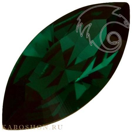 Кристалл Swarovski (Сваровски) Navette Fancy stone 15х7 мм Emerald