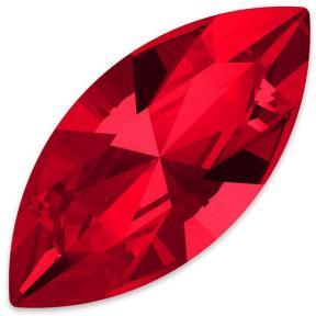 Swarovski Navette Fancy stone 15х7 мм Scarlet
