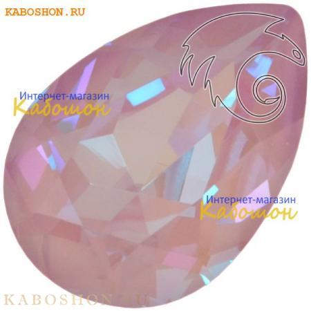 Кристалл Swarovski (Сваровски) Pear Fancy stone 14х10 мм Crystal Lavender DeLite