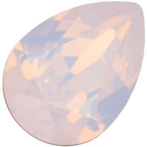 Swarovski Pear Fancy stone 14х10 мм Rose Water Opal