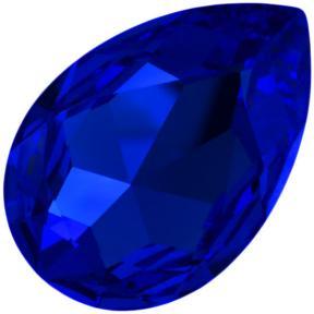 Swarovski Pear Fancy stone 18x13 мм Majestic Blue