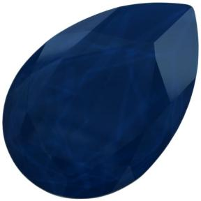 Swarovski Pear Fancy stone 30х20 мм Crystal Royal Blue
