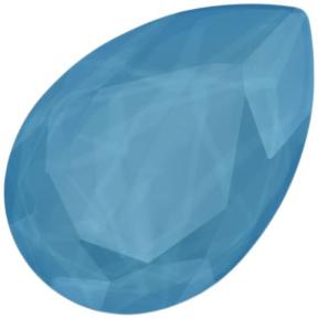 Swarovski Pear Fancy stone 30х20 мм Crystal Summer Blue