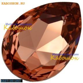 Swarovski Pear Fancy stone 30х20 мм Blush Rose