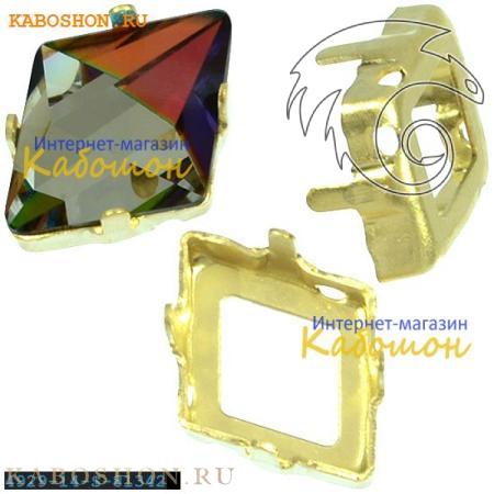 Оправа для Swarovski 4929 Tilted Spike Fancy stone 14х10,5 мм ла 4929-14-S-81342