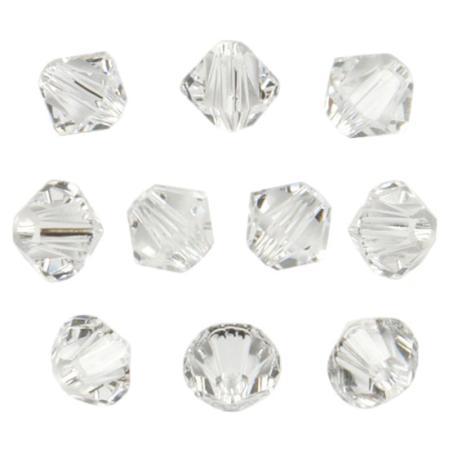 Swarovski Xilion beads 4 мм Crystal