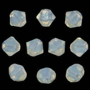 Swarovski Xilion beads 4 мм White Opal