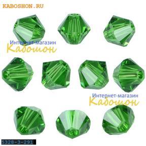 Swarovski Xilion beads 4 мм Fern Green