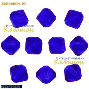 Swarovski Xilion beads 4 мм Majestic Blue