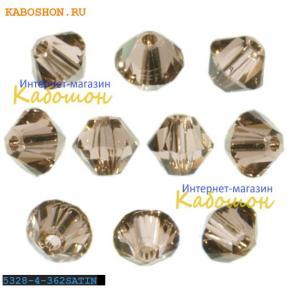 Swarovski Xilion beads 4 мм Lt.Peach Satin