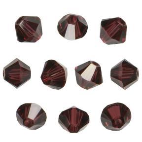 Swarovski Xilion beads 4 мм Burgundy