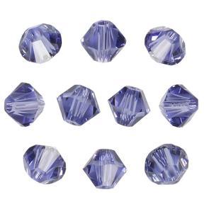 Swarovski Xilion beads 4 мм Tanzanite