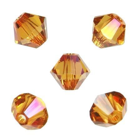 Swarovski Xilion beads 6 мм Crystal Astral Pink