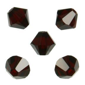 Swarovski Xilion beads 5 мм Garnet