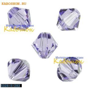 Swarovski Xilion beads 5 мм Provence Lavender